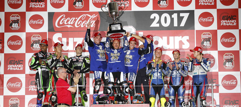 Yamaha Factory Racing Team pulls off hat-trick