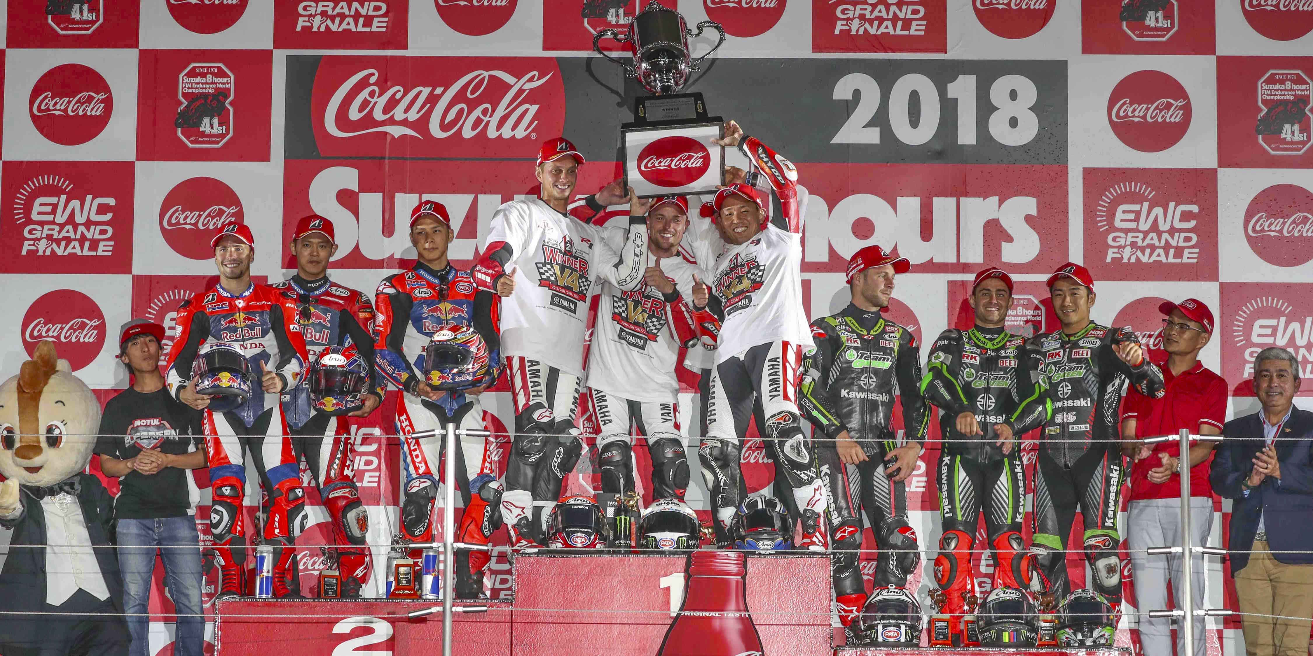 Yamaha Factory Racing Team claims fourth win at Suzuka   –   F.C.C. TSR Honda France, the first Japanese team World champion