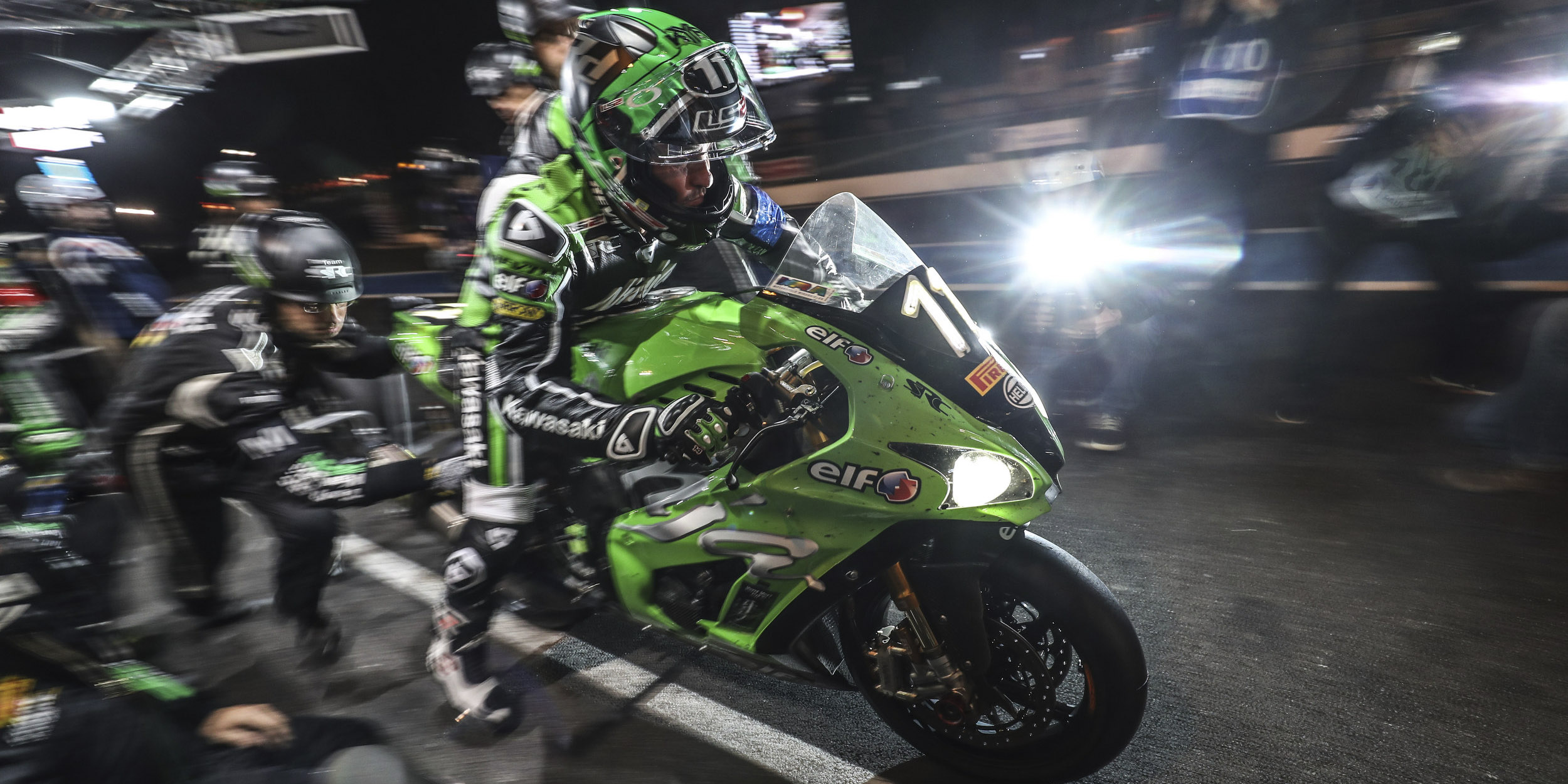 A new ZX-10RR for Team SRC Kawasaki France